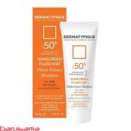 ضد آفتاب بی رنگ پوست چرب SPF50 درماتیپیک