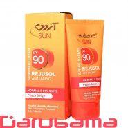 کرم ضد آفتاب رنگی SPF90 آردن مناسب پوست معمولی و خشک