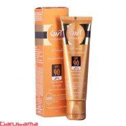 کرم ضد آفتاب رنگی SPF90 مناسب پوست های معمولی و خشک آردن